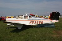 N5365E @ OSH - 1959 Beech K35, c/n: D-5854 - by Timothy Aanerud