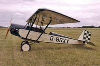 G-BRXY @ EGBG - 1991 Morris Ae PIETENPOL AIR CAMPER, c/n: PFA 047-11416 at Leicester