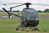 G-SHRN @ EGBG - Schweizer 269C-1 at Leicester
