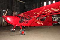 G-LESZ @ EGBG - 2003 James La SKYSTAR KITFOX MK5, c/n: PFA 172C-12822 hangared at Leicester