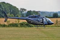 G-BYSE @ EGBG - 1978 Costruzioni Aeronautiche Giovanni Agusta Spa AGUSTA BELL 206B, c/n: 8553 at Leicester