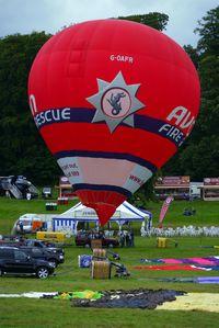 G-OAFR - 2007 Cameron Balloons Ltd CAMERON Z-105, c/n: 11018 at 2010 Bristol Balloon Fiesta