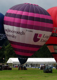 G-CGNJ - Cameron Balloon of Loughborough University at 2010 Bristol Balloon Fiesta