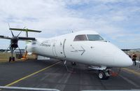 C-GCKV @ EGLF - Bombardier DHC-8 (Dash 8) -Q412 of AirBaltic at Farnborough International 2010 - by Ingo Warnecke
