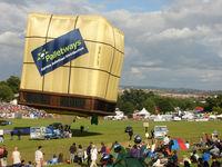 G-PLLT - Rearside of new Lintsrand Pallet Shape at 2010 Bristol Balloon Fiesta