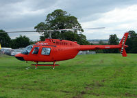 G-BEWY - 1969 Bell Helicopter Co BELL 206B, c/n: 348 provided the jumping platform for the sky-divers at 2010 Bristol Balloon Fiesta