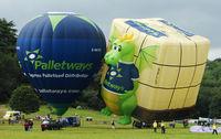 G-WAYS - 2 x Palletway Linstrand Balloons at 2010 Bristol Balloon Fiesta