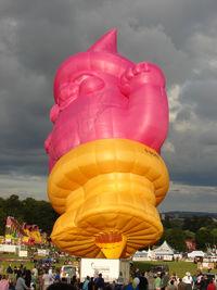G-NOMZ - Brand new balloon for Rowntree Randoms at 2010 Bristol Balloon Fiesta