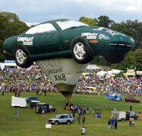 G-OXKB - 1996 Cameron Balloons Ltd CAMERON SPORTS CAR-110, c/n: 3941 at the 2010 Bristol Balloon Fiesta