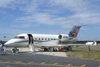 M-EMLI @ EGLF - Canadair (Bombardier) CL600-2B16 Challenger 604 at Farnborough International 2010