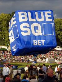 G-CFXI - Linstrand Blue Square Balloon at 2010 Bristol Balloon Fiesta