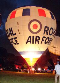 G-IOFR - 2005 Lindstrand Hot Air Balloons Ltd LBL 105A, c/n: 1041 of Royal Air Force at 2010 Bristol Balloon Fiesta - by Terry Fletcher