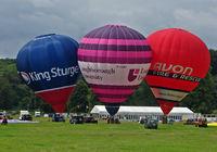 G-CGNJ - Tethered Balloons at 2010 Bristol Balloon Fiesta