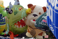 UNKNOWN - Tethered Ballons at 2010 Bristol Balloon Fiesta