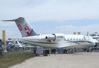 M-EMLI @ EGLF - Canadair (Bombardier) CL600-2B16 Challenger 604 at Farnborough International 2010 - by Ingo Warnecke
