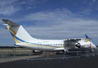 UR-NTN @ EGLF - Antonov An-158 at Farnborough International 2010