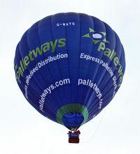 G-WAYS - LINDSTRAND HOT AIR BALLOONS LTD  Type: LBL 105A  Serial No.: 1307  at 2010 Bristol Balloon Fiesta
