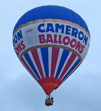 G-CCGY - 2003 Cameron Balloons Ltd CAMERON Z-105, c/n: 10422 at 2010 Bristol Balloon Fiesta