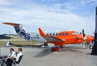 D-CFME @ EGLF - Beechcraft B300 Super King Air 350 of Flight Calibration Services at Farnborough International 2010