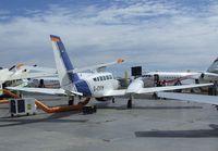 G-CVXN @ EGLF - Reims Cessna F406 'Caledonian Vixen' at Farnborough International 2010