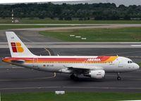 EC-LEI @ EDDL - EC-LEI Airbus A319-111 c/n 3744 - by Mark Giddens