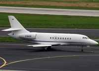 D-BASE @ EDDL - D-BASE Falcon 2000EX c/n111 at Dusseldorf - by Mark Giddens