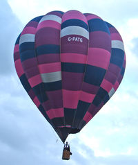 G-PATG - 1996 Cameron Balloons Ltd CAMERON O-90, c/n: 3856 at 2010 Bristol Balloon Fiesta