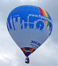 G-CGIG - LINDSTRAND HOT AIR BALLOONS LTD  Type: LBL 90A  Serial No.: 1280  at 2010 Bristol Balloon Fiesta