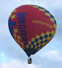 G-CEOV - LINDSTRAND HOT AIR BALLOONS LTD  Type: LBL 120A  Serial No.: 1158  at 2010 Bristol Balloon Fiesta