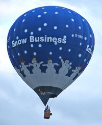G-SBIZ - 2002 Cameron Balloons Ltd CAMERON Z-90, c/n: 10348 at 2010 Bristol Balloon Fiesta