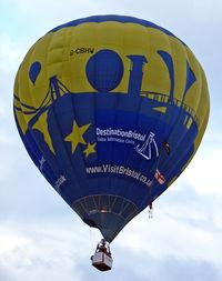 G-CBHW - 2002 Cameron Balloons Ltd CAMERON Z-105, c/n: 10217 at 2010 Bristol Balloon Fiesta