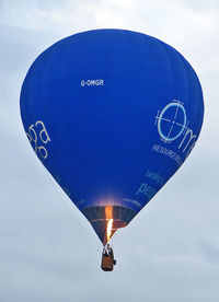 G-OMGR - CAMERON BALLOONS LTD  Type: CAMERON Z-105  Serial No.: 11095  at 2010 Bristol Balloon Fiesta