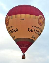 G-CEKS - 2007 Cameron Balloons Ltd CAMERON Z-105, c/n: 11003 at 2010 Bristol Balloon Fiesta