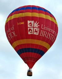 G-CDWD - 2006 Cameron Balloons Ltd CAMERON Z-105, c/n: 10827 at 2010 Bristol Balloon Fiesta