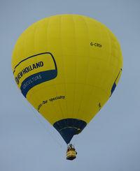 G-CROP - CAMERON BALLOONS LTD  Type: CAMERON Z-105  Serial No.: 11157  at 2010 Bristol Balloon Fiesta