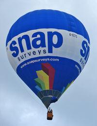 G-CCTS - 2004 Cameron Balloons Ltd CAMERON Z-120, c/n: 10570 at 2010 Bristol Balloon Fiesta