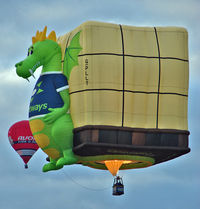 G-PLLT - LINDSTRAND BALLOONS LTD  Type: LBL BOX  Serial No.: 1308  at 2010 Bristol Balloon Fiesta