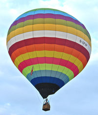 G-CFXP - LINDSTRAND HOT AIR BALLOONS LTD  Type: LBL 105A  Serial No.: 1168  at 2010 Bristol Balloon Fiesta