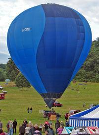 G-CDIT - 2005 Cameron Balloons Ltd CAMERON Z-105, c/n: 10702 at 2010 Bristol Balloon Fiesta