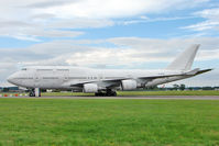 F-GITA @ EGBP - ex Air France Boeing 747-428, c/n: 24969 stored at Kemble