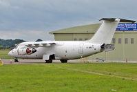 G-BRXT @ EGBP - 1988 British Aerospace Plc BAE.146-200, c/n: E2115 stored at Kemble