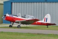 G-BYSJ @ EGBP - 1950 De Havilland DHC-1 CHIPMUNK 22, c/n: C1/0021 ears Serial WB569 at Kemble