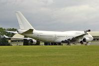 F-GITB @ EGBP - ex Air France Boeing 747-428, c/n: 24990 stored at Kemble