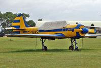 G-YAKB @ EGBP - 1992 Aerostar Sa YAK-52, c/n: 9211517 at Kemble