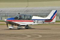 G-ELUN @ EGBP - 1975 Avions Pierre Robin PIERRE ROBIN DR400/180R, c/n: 1102 at Kemble