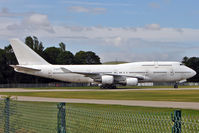 F-GITC @ EGBP - Boeing 747-428, c/n: 25344 a third ex France B747 to find its way into storage at Kemble - joining F-GITA and F-GITB