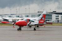 G-BODY @ EGBB - Revised Colour Scheme on 1979 Cessna CESSNA 310R, c/n: 310R-1503 at Birmingham (UK)