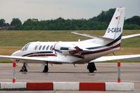 D-CASA @ EGBB - German Cessna 560, c/n: 560-0544 at Birmingham (UK) - by Terry Fletcher