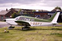 G-BBPY @ EGCB - 1973 Piper PIPER PA-28-180, c/n: 28-7305590 at Manchester Barton