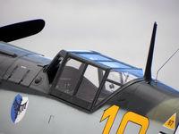 G-BWUE @ EGSU - Flying Legends  Air Show Duxford 2010 - by Henk Geerlings